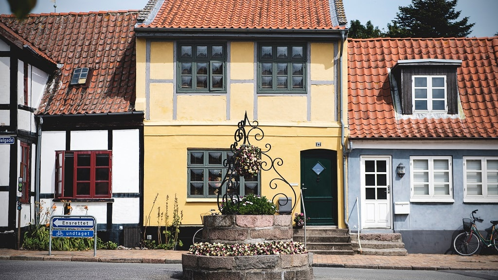 bogense hygge by gamle huse