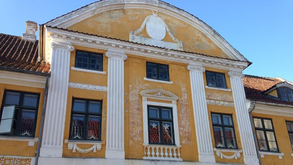 Jakob Enckes Gård Nyborg Kongegade facaden