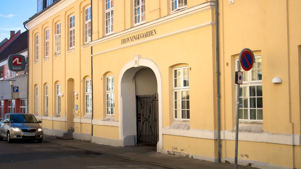 Dronningegaarden Nyborg facade