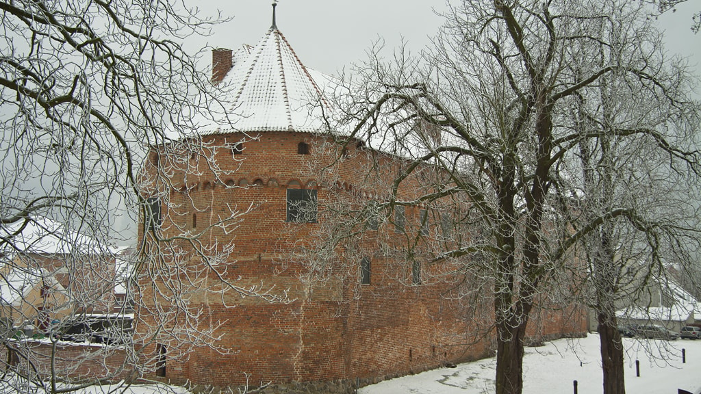 Nyborg Slot vinter