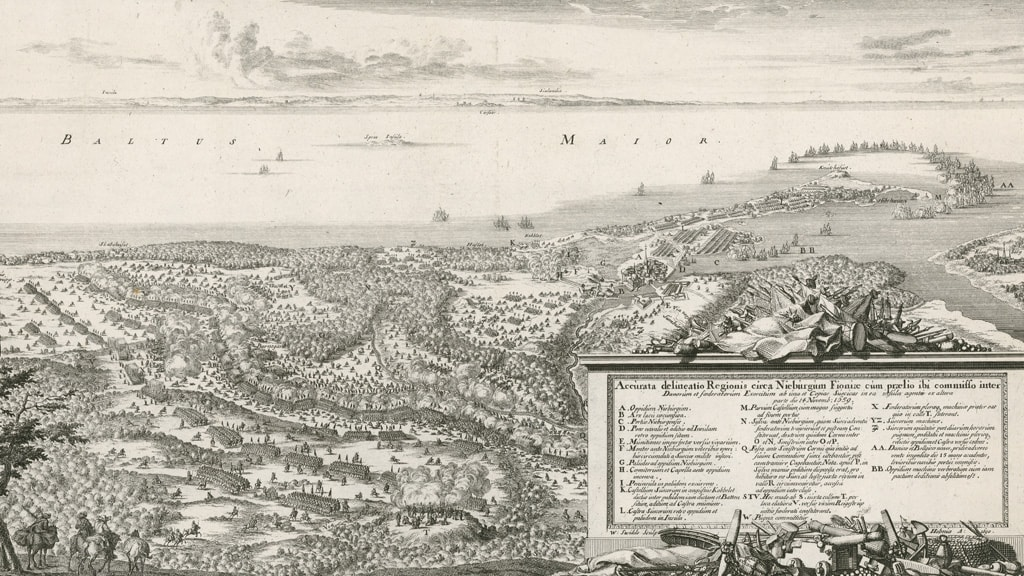Slaget ved Nyborg 1659 slagmarken historisk