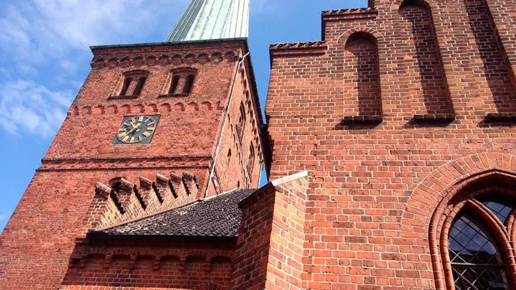 Nyborg Vor Frue Kirke kirketårn