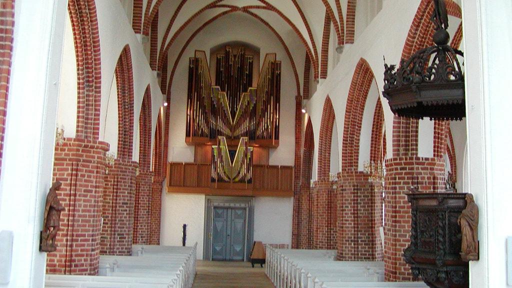 Nyborg Vor Frue Kirke orgel