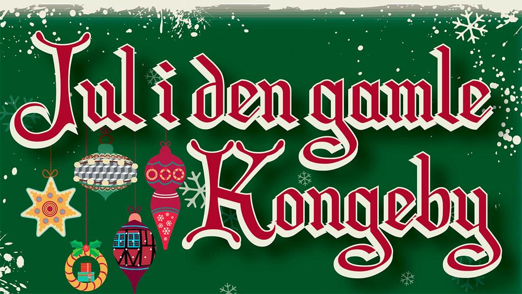 Jul i den gamle Kongeby Nyborg logo