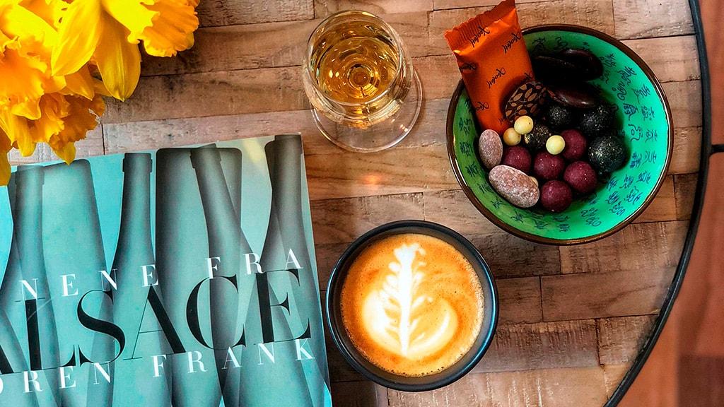 Vinspecialisten kaffe og vinbar Nyborg