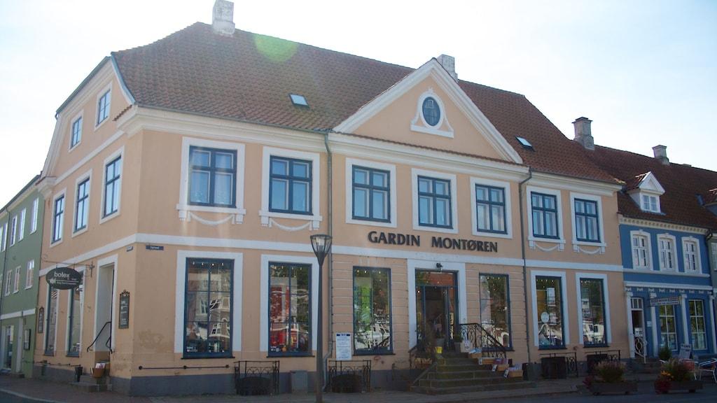 Nyborg Kalentegården Torvet Byvandring
