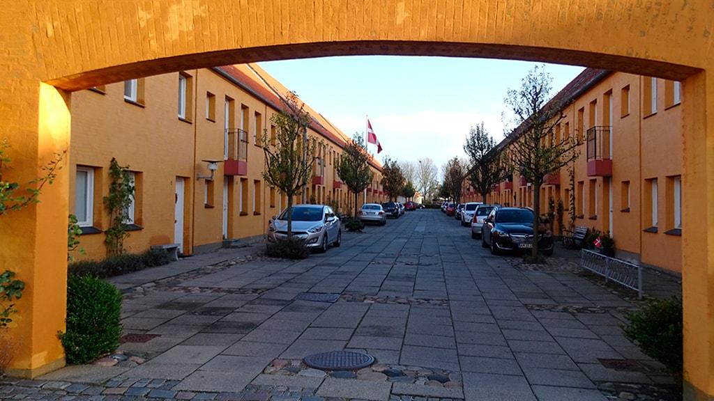 Nyenstad efter bysanering i Nyborg
