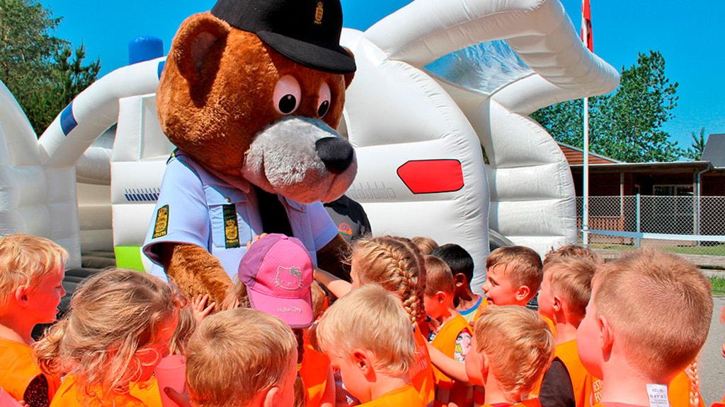 Børnenes Trafikskole og Bamse Betjent