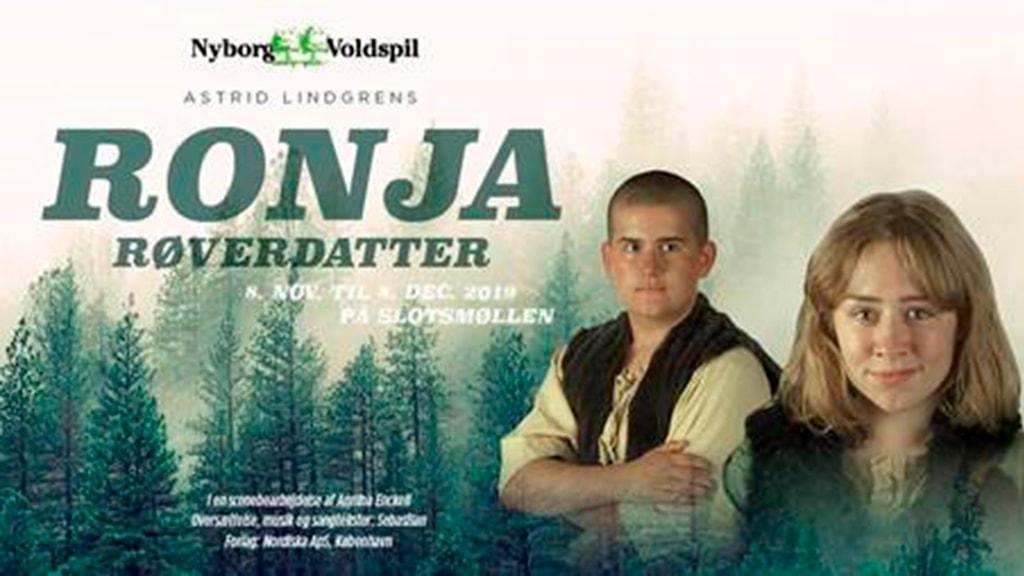 Nyborg Fyn Danmark Ronja Røverdatter