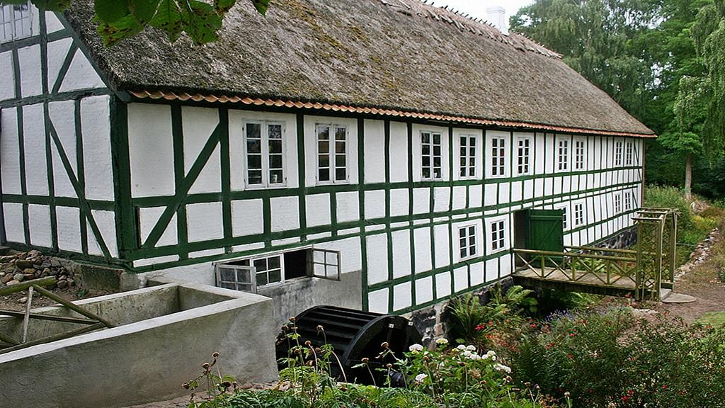 Nyborg Fyn Danmark Grønne Mølle Møllesiden Torben Lindegaard