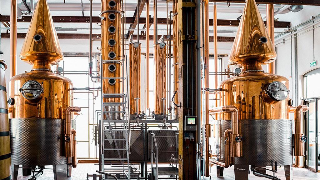 Nyborg Destilleri potstills