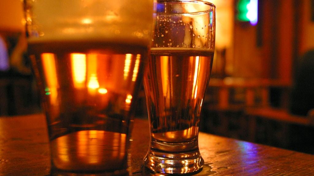 Refsvindinge Bryggeri Nyborg øl glas