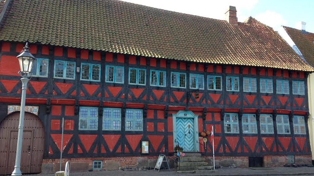 Borgmestergården Nyborg Slotsgade facade