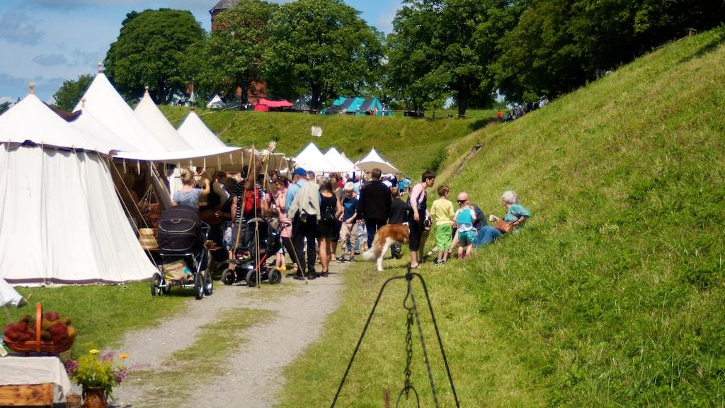 Danehof middelaldermarked Nyborg Dronningens Bastion