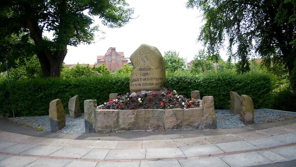 Slaget ved Nyborg 1659 monument mindesten