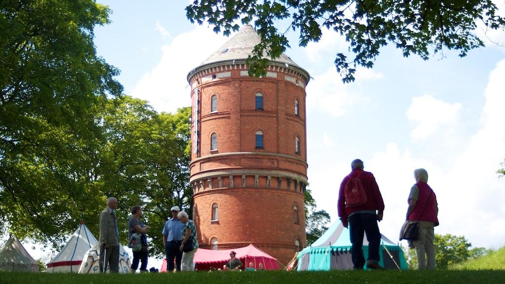 Vandtårn Dronningens Bastion Nyborg Voldanlæg Danehof