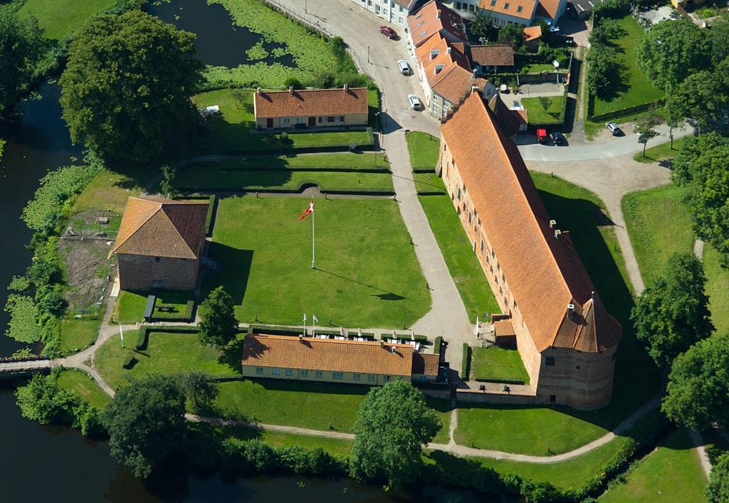 Nyborg Slot luftfoto