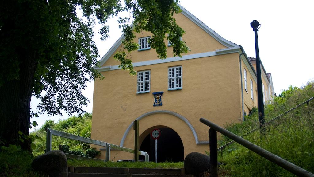 Landporten Nyborg fæstning voldanlæg