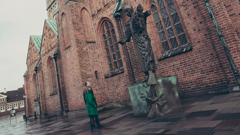 The sculpture of Ansgar | Ribe
