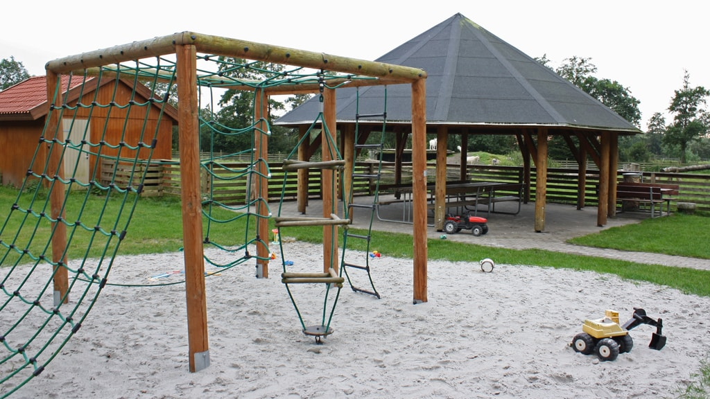 Play ground at Minidyrehaven | Ribe