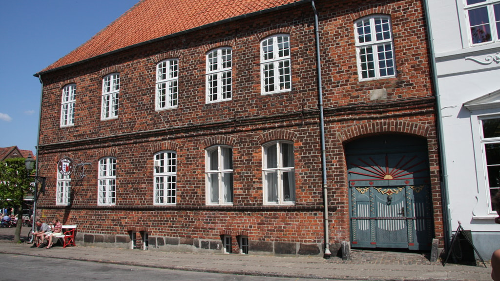 Das Porsborg-Gebäude in Ribe