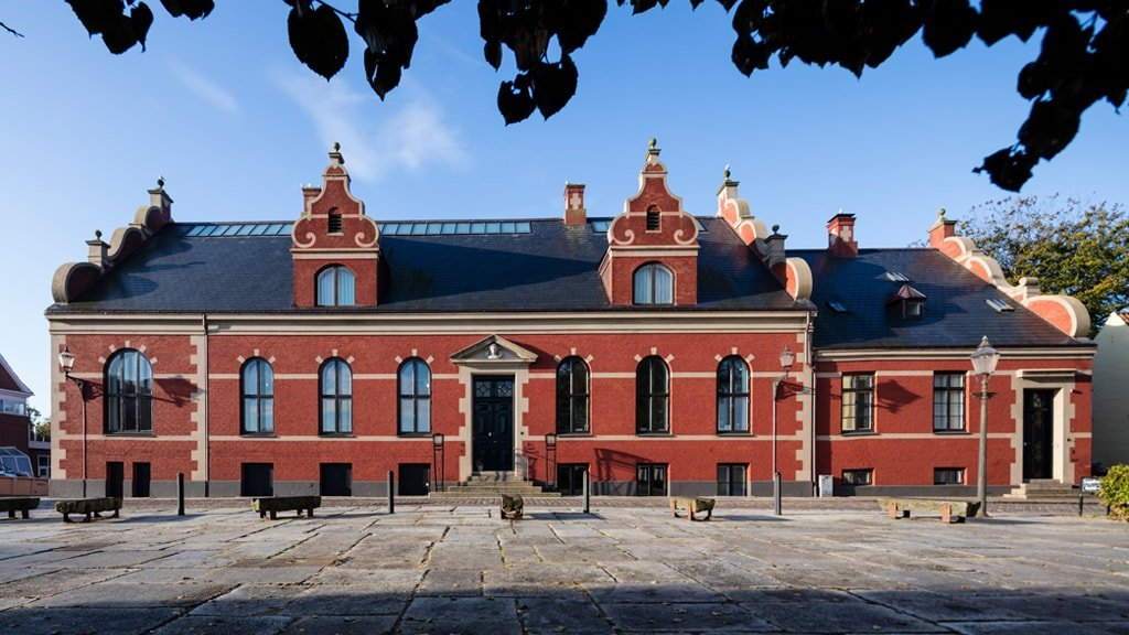Fassade des Ribe Kunstmuseum