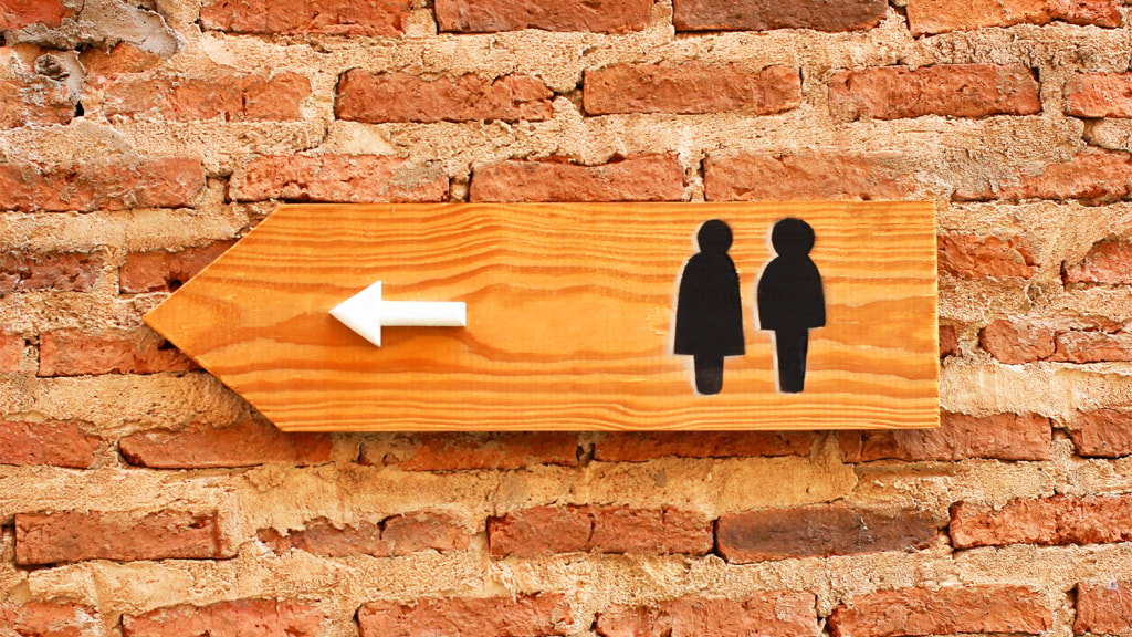 Offentligt toilet på Torvet i Ribe