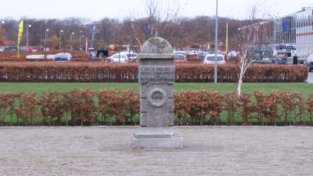 Memorial stone at P-Nord in Ribe