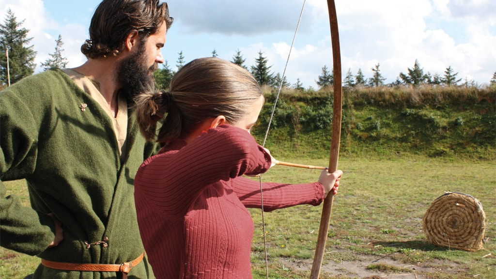 Archery at Ribe VikingeCenter