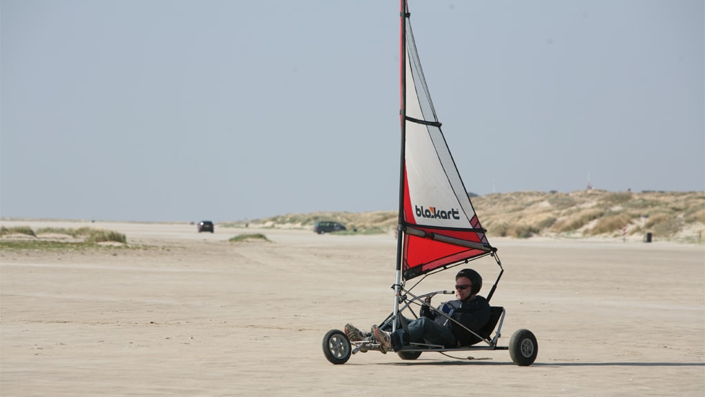 Blokart on Fanø