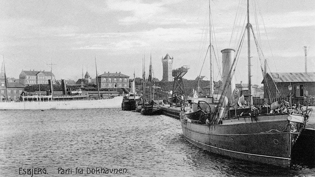Gl. dokhavn i Esbjerg