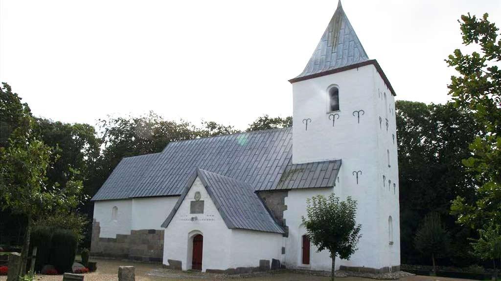St. Knud Church in Bramming