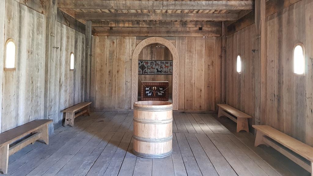 Ansgar Kirkes Taufkapelle | Ribe VikingeCenter