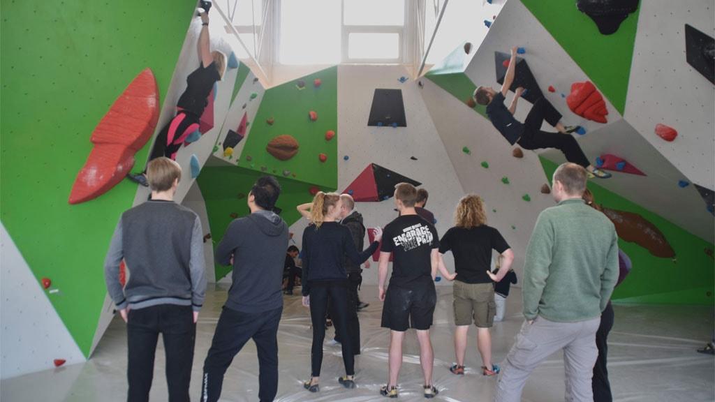 Klatrevæg | Boulder Hulen i Esbjerg