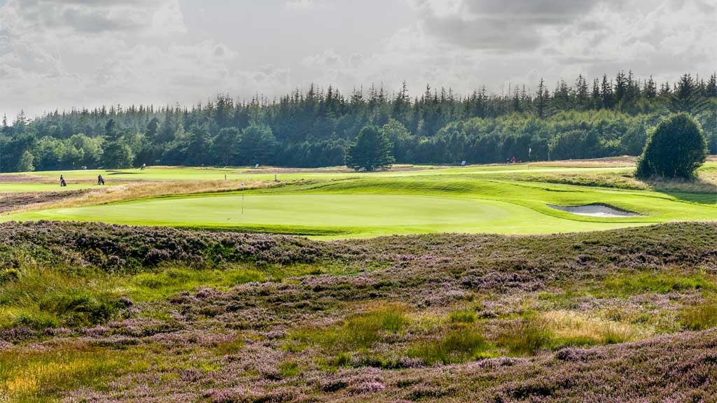 A view beyond the course at Esbjerg Golf Club