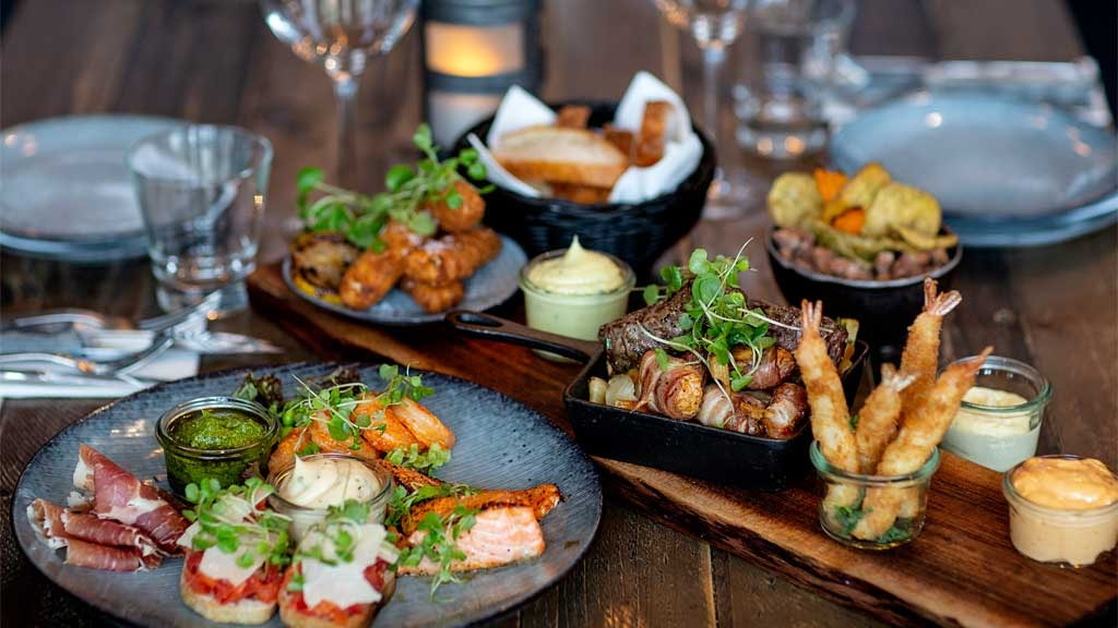 Delicious food from Posthuset