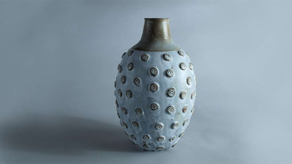 Ceramic vase from Sten Børsting