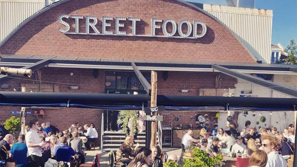 Esbjerg Street Food | Die Fassade im Hof