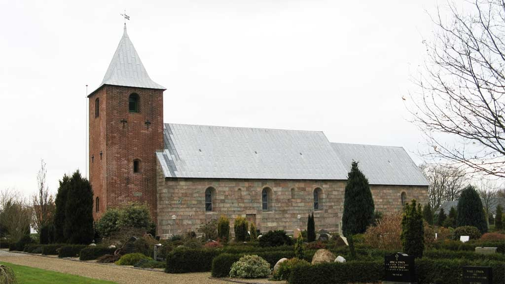 Skads Church near Esbjerg