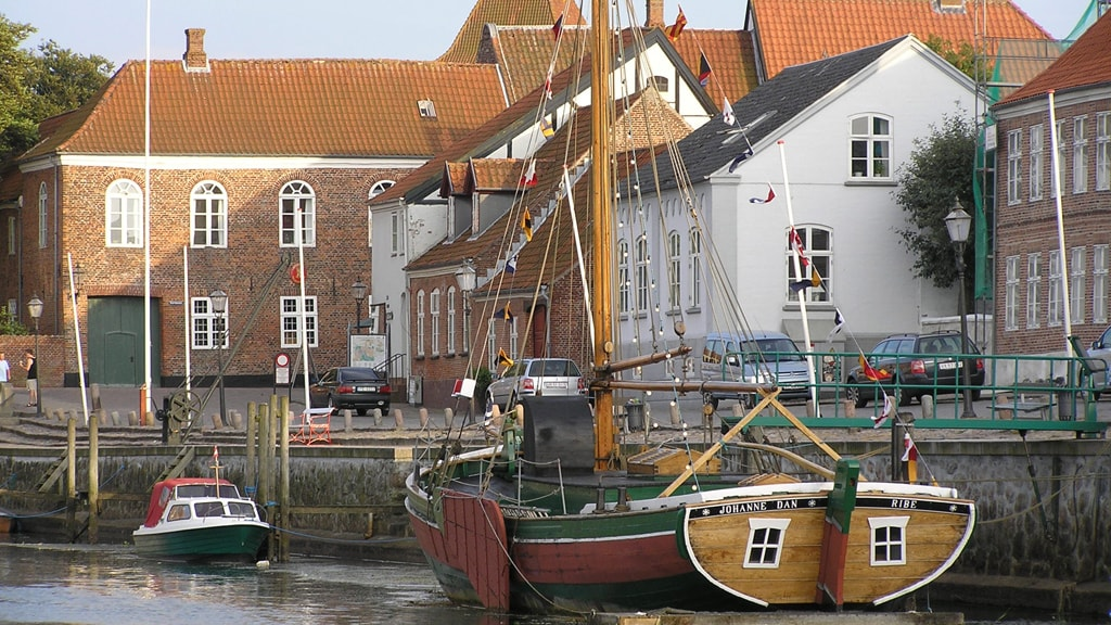 Ribe Harbor by Skibbroen