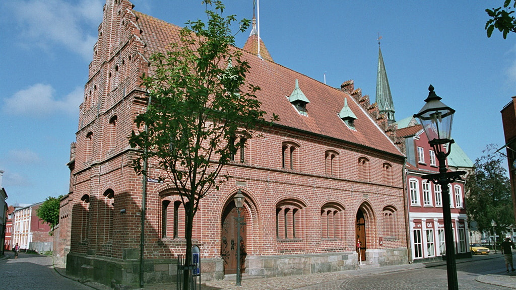 The Old Town Hall in Ribe from the outside