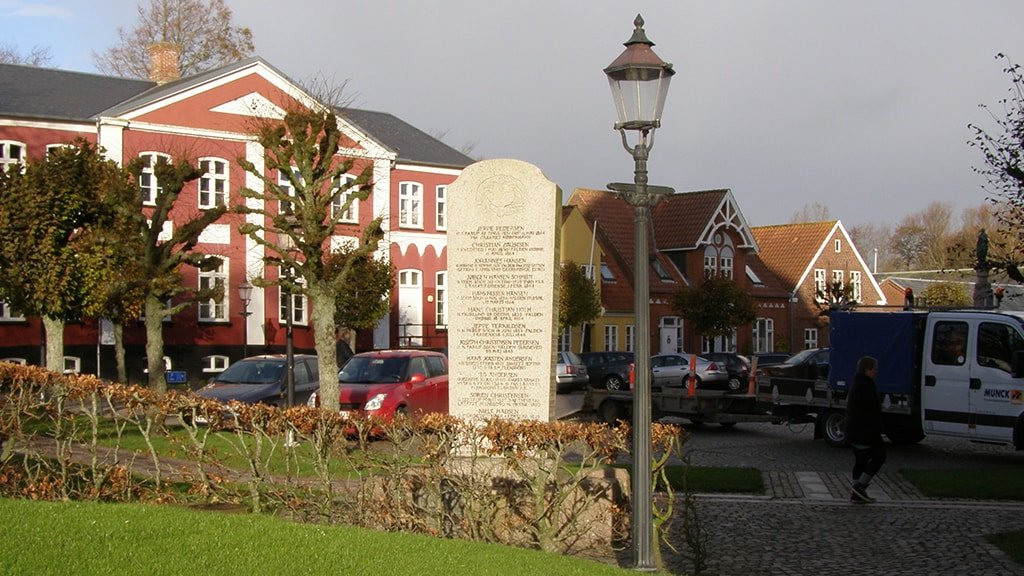 War time memorial - the Schleswig wars