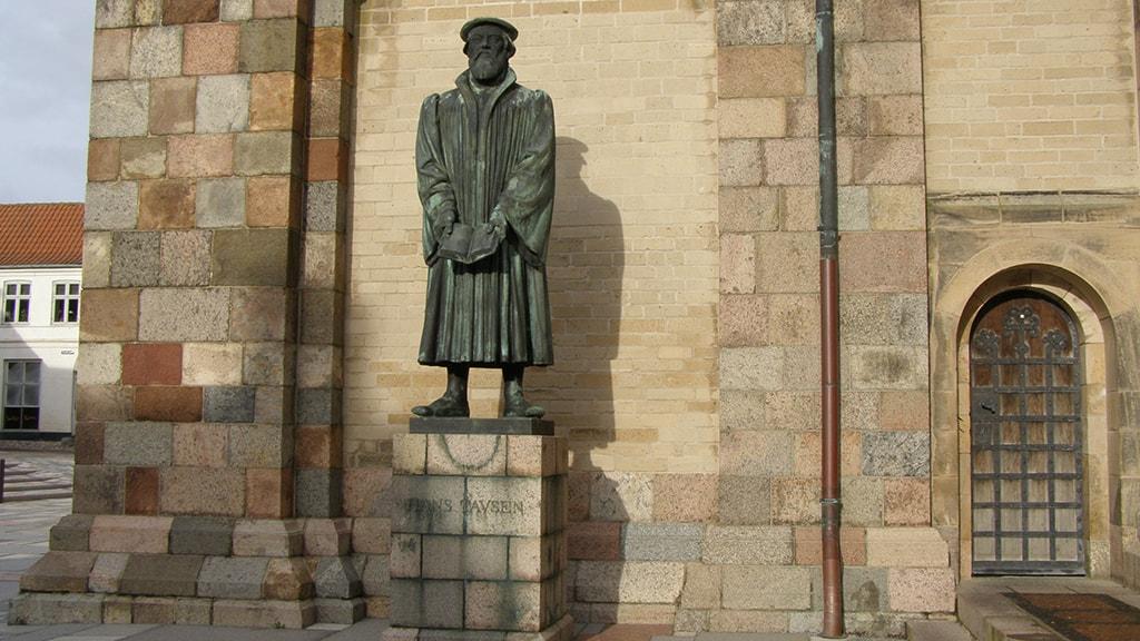 Statue of Hans Tavsen | Ribe