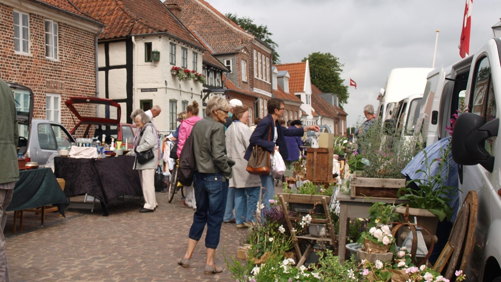 Market days in Ribe