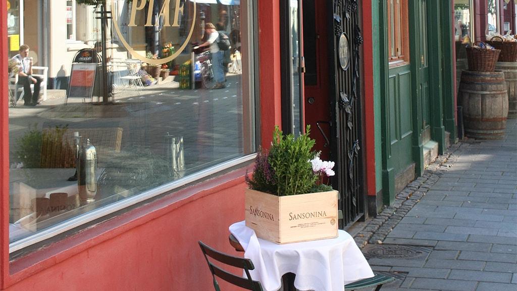 Restaurant Piaf Facade