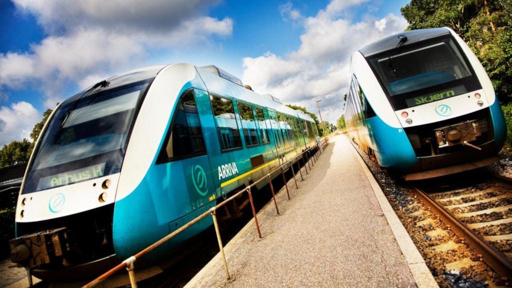 Regionaltog Silkeborg Station