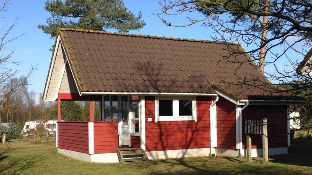 Søhøjlandets Familiecamping hytte
