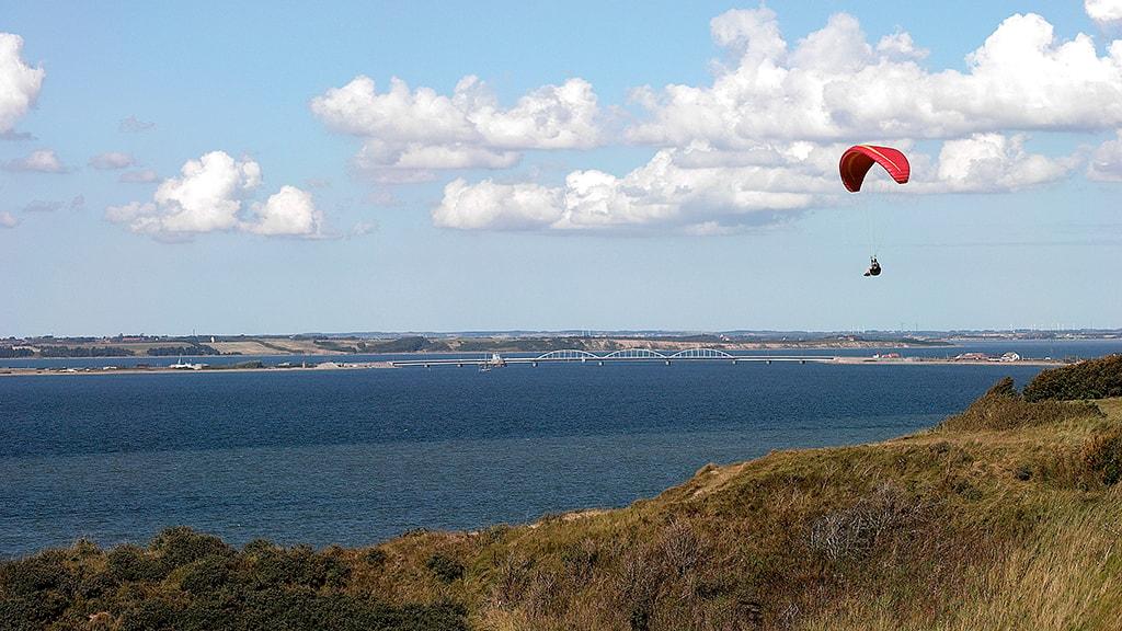Toftum Bjerge - Struer - Paraglider