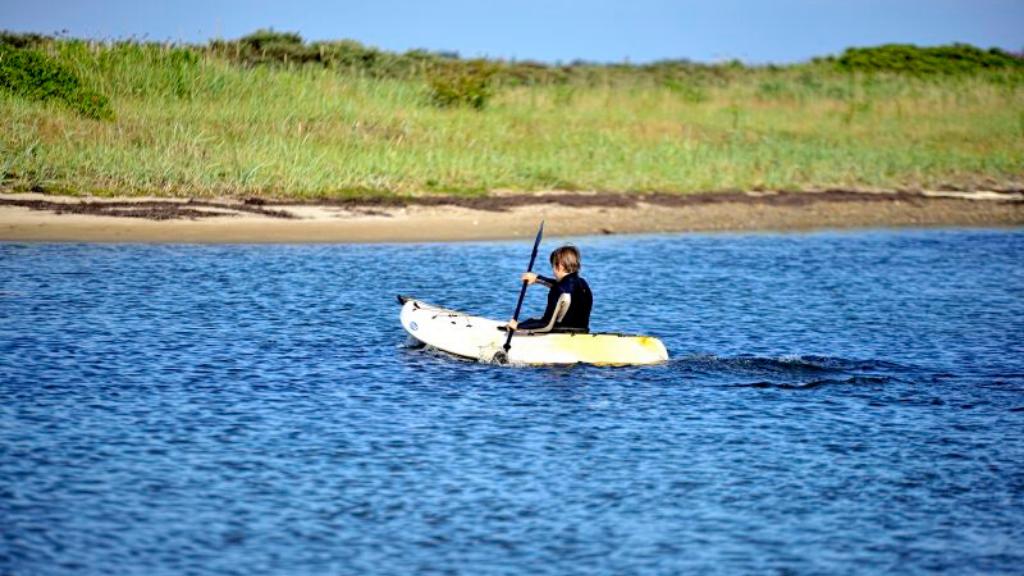 Kajakudlejning hos Humlum Fiskerleje & Camping