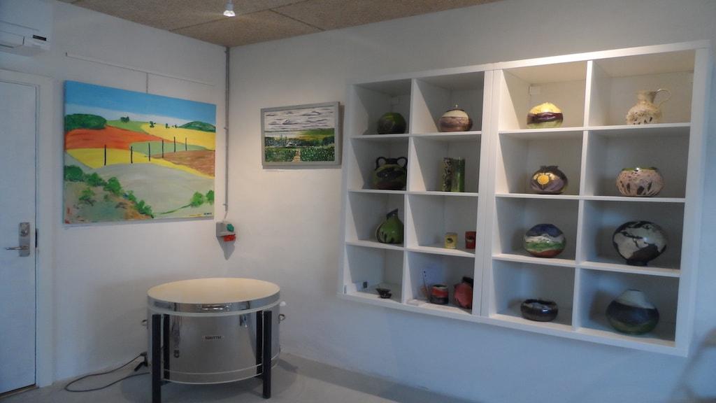 Udstilling af keramik i Galleri Engen 5